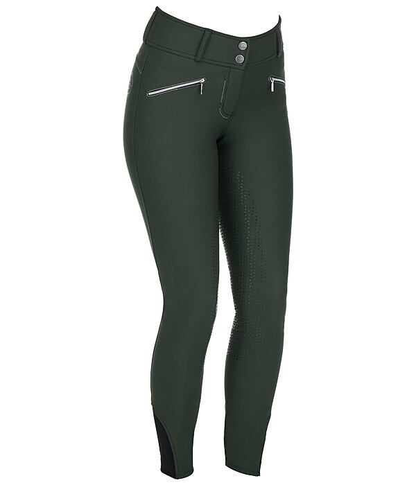 Grip High-Waisted Soft Shell Full-Seat Breeches Ariana