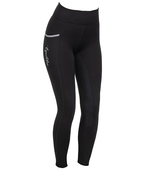 Thermal Grip Full Seat Riding Leggings Kristen